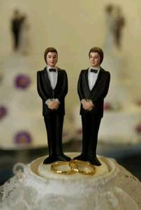 Gay Marriage Cake Male