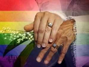 gay marriage hands and rings